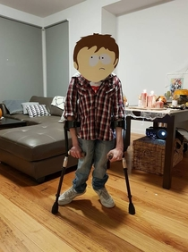 My brothers Halloween Costume this year
