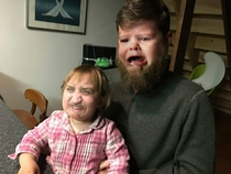 My buddy faceswapped me and my niece