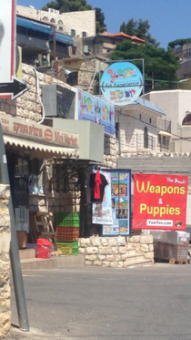 My buddy just got back from Israel this looks like the best store ever