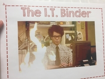 My class wanted a technology info binder so they could troubleshoot their tech themselves I gladly acquiesced