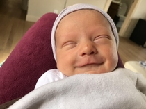 My Constipated newborn finally pooped