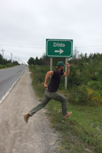 My cousin found an oddly named city in Newfoundland