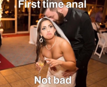 My cousin just got married and asked everyone to create a meme using a certain picture Here is my submission