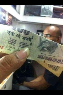 My cousin tried this with an indian gandhi currency and my bald cousin Ladies and gentlemen I present the gandhi match