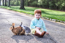 My cousins Easter photos gave us this true masterpiece