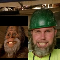 My coworker and his doppelganger