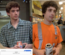My coworker shaved his beard over the weekend I cant get past this comparison