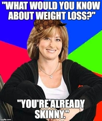 My coworkers were discussing weight loss something I have a lot of experience with This twisted logic