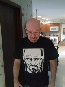 My Dad gets told he looks like Walter White from Breaking Bad all the time My sister and I got him this for Christmas