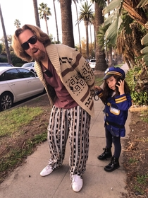My daughter and me this Halloween