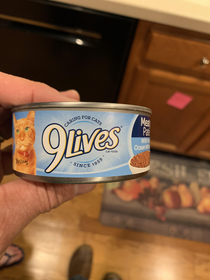 My daughter handed me a can of Olives today