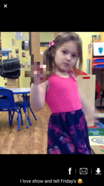 My daughters school sent me this pic of her holding her Wonder Woman doll and then I stumbled across the blur feature in the image editor
