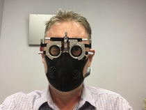 My emergency trip to the ophthalmologist was interesting You merely adopted the dark I was born into it