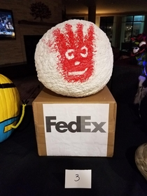 My entry in the company pumpkin contest