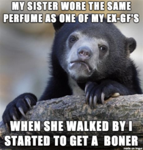 My ex always wore the same perfume when we had sex