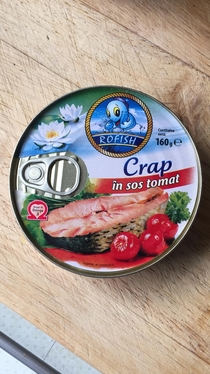 My Father will eat anything If you served crap in tomato sauce hed eat it Found this at the local Hungarian food shop Bon Appetit Papa