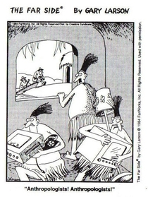 My favorite anthro-related Far Side comic