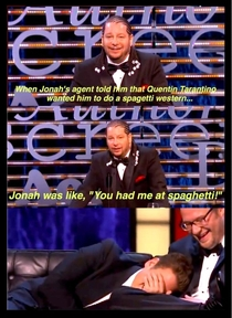 My favorite line from the James Franco Roast courtesy of Jeff Ross