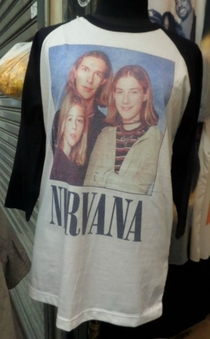 My favorite Nirvana T-shirt
