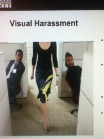 My favorite picture from my sexual harassment training
