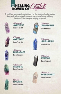 My favourite is amethyst