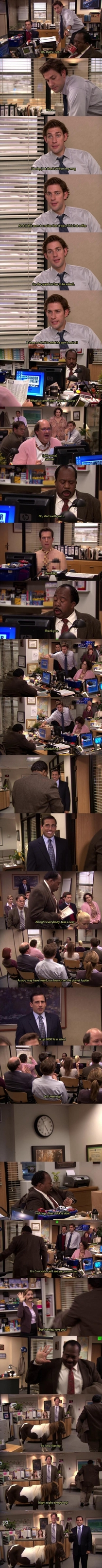 My favourite moment from The Office