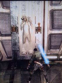 My favourite part of The Force Unleashed