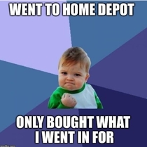 My fellow home owners will understand