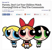 My fellow Powerpuff comrades