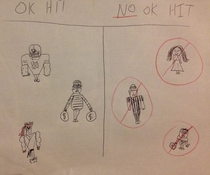 My friend drew a guide for NFL players