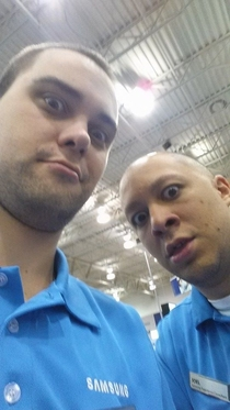 My Friend has an Iphone and left it unattended at Best Buy This is what the Samsung Reps did with it