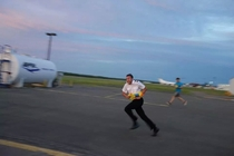 My friend is a pilot He said when they get bored they have water gun fights