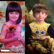 My friend is the lost twin of the Pajama Kid