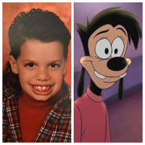 My friend looked just like Max Goof as a child Posted with permission