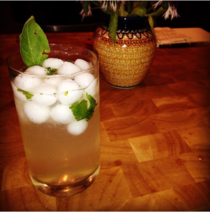 My friend made the best of a violent hail storm Hail cocktails