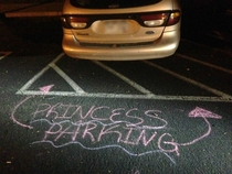 My friend parked like a d-bag The neighbor kids left him a message