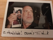 My friend sent some fan-mail to Tom Hanks on a whim The quick reply she got was