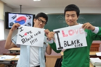 My friend teaches English in Korea Hes also quite a prankster