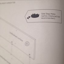 My friend was putting together her furniture and this was in the instructions