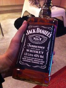 My friend went to Scotland I asked him to buy a bottle of whiskey for me this is what he bought