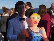 My friend went to senior prom with a blow up sex doll named Christina