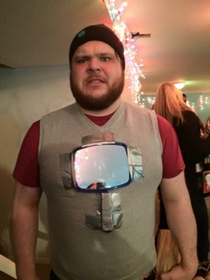 My friend wore this to an ugly sweater party
