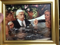 My friend works for a hot tub company the CEO was friends with Leslie Nielsen