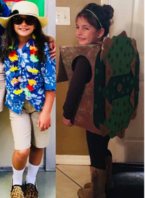 My friends daughters school has a tourist day every year Last year she misheard and sent her daughter to school as a tortoise