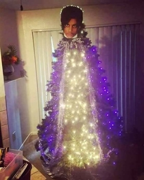 My friends Prince inspired Christmas tree