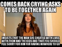 My friends soon to be ex-wife Cheated on him Multiple times While kids were in the apartment