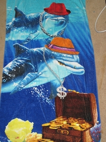 My friends told me you guys would appreciate the beach towel I found
