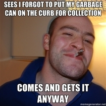 My garbage man is pretty awesome