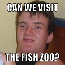 My girlfriend forgot the word aquarium