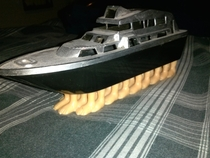 My girlfriend showed me her  foot yacht